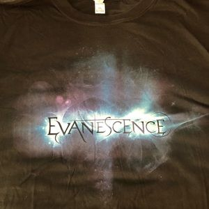 Evanescence 2011 deluxe album bundle T-shirt 3xl